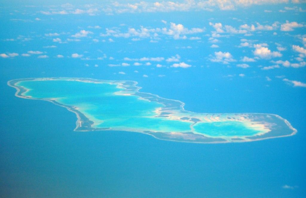 Een van de Tuamotu-eilanden: Anaa. Teamlid Joana komt hiervandaan.